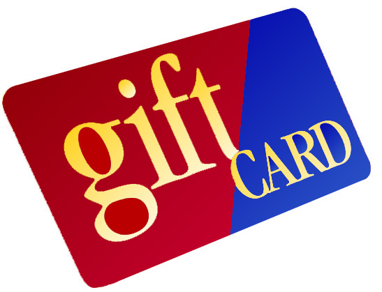 FOUND: 2 Gift Cards