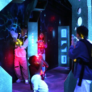 Laser Quest Booking FULL