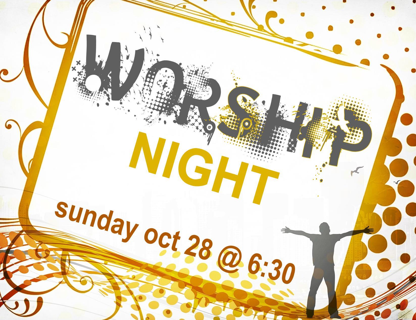 Worship Night Recording