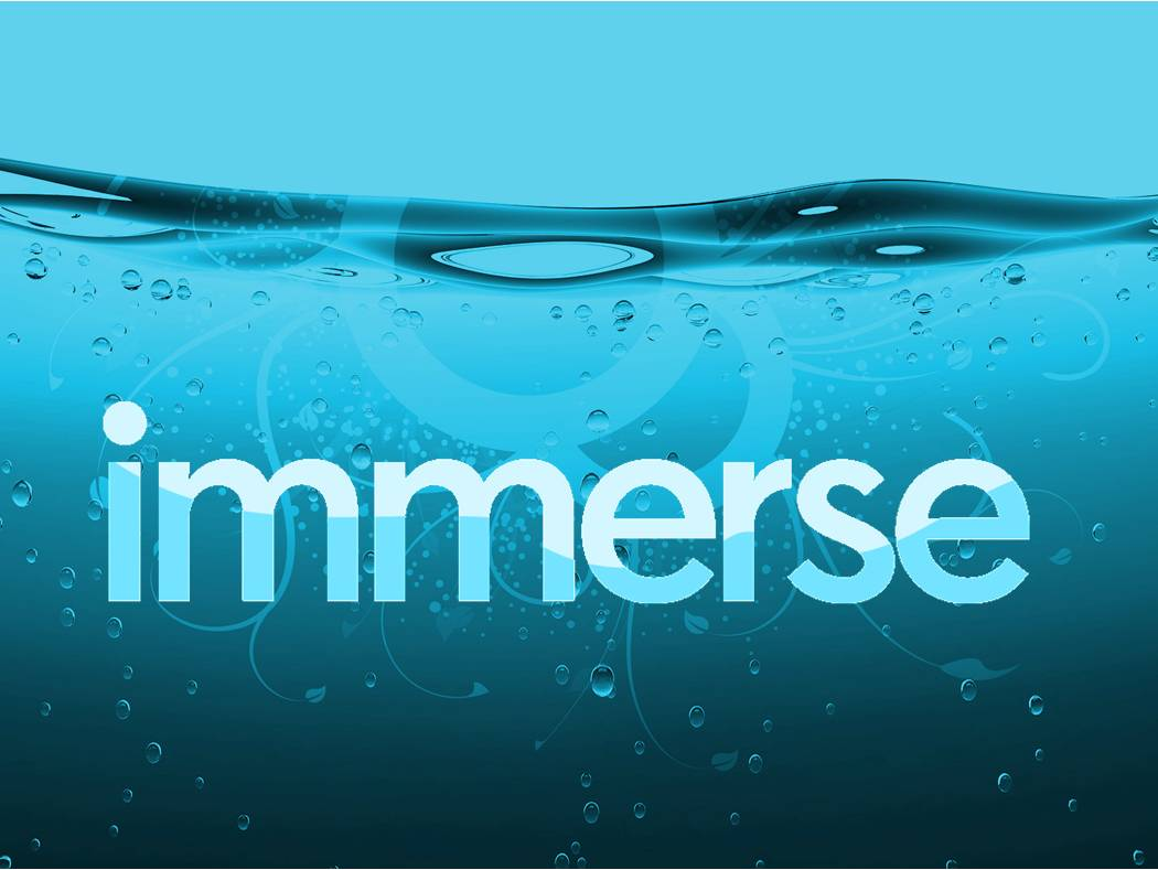 IMMERSE Study Guide: Day 1