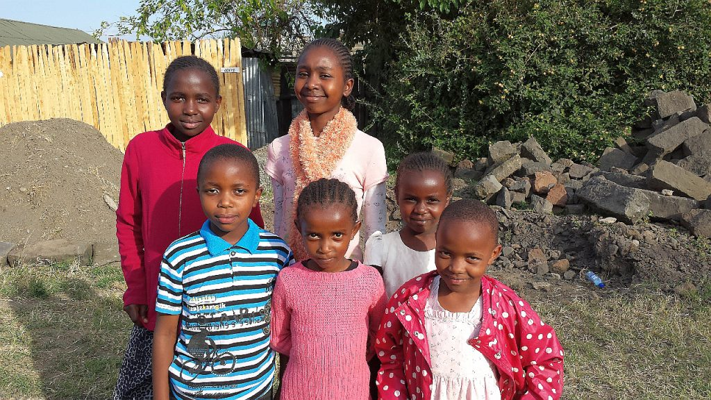 The children of the pastor who hosted the conference.