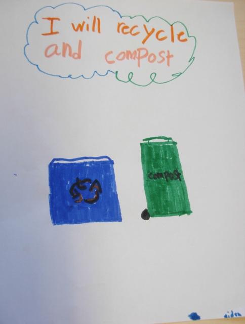 SK-Grade 5 Parents: Go Green at Home