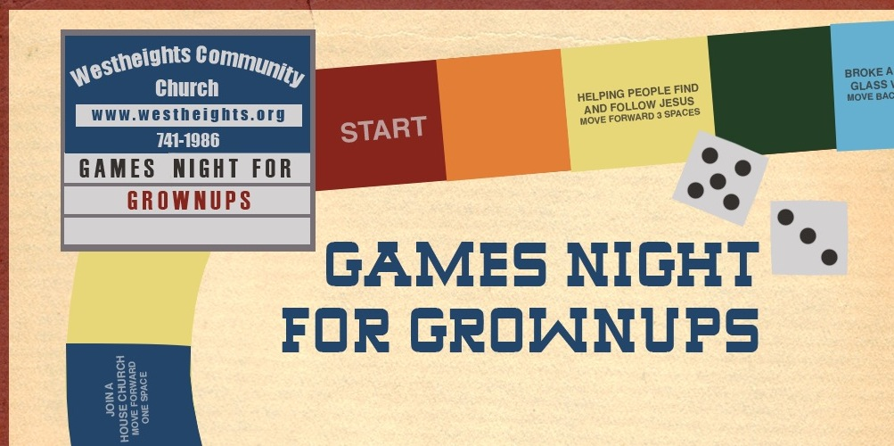 Games Night for Grownups