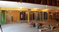 New Basement Classrooms - Framed
