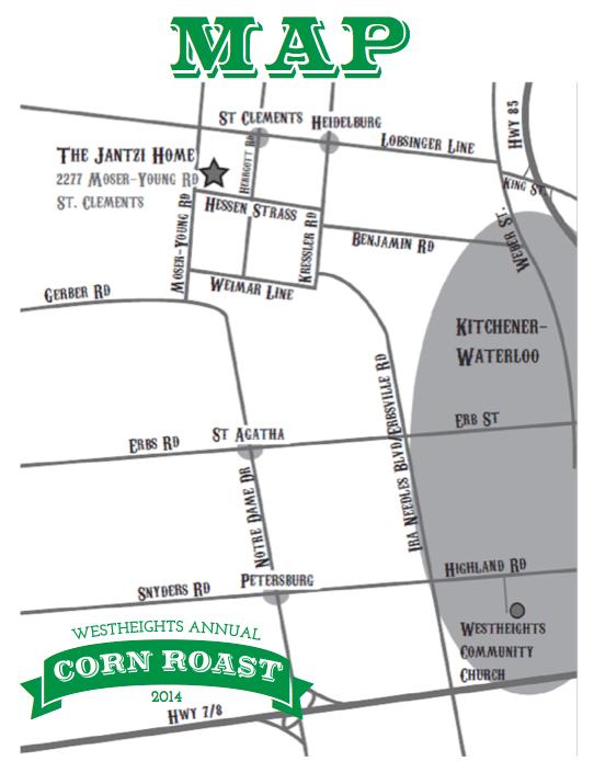 corn roast map