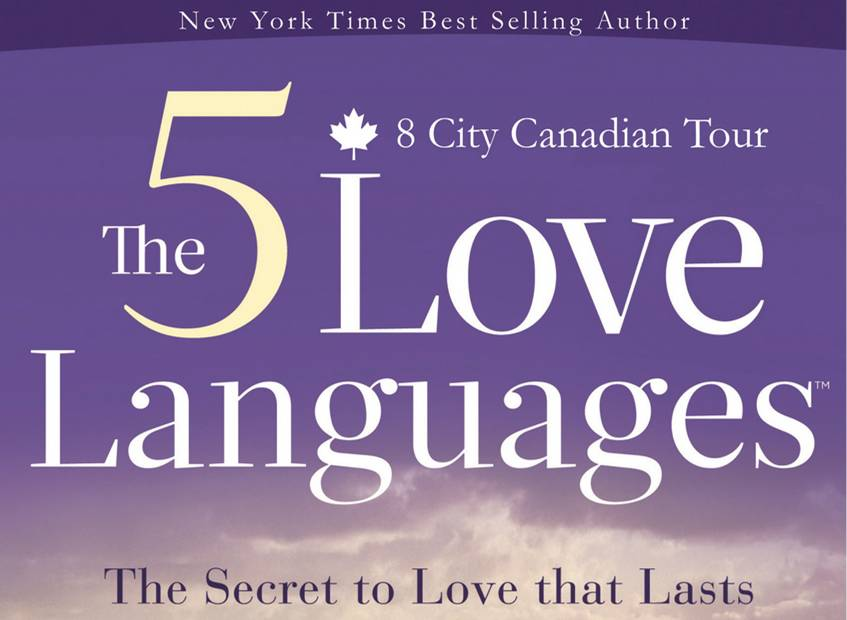 5 Love Languages Tour, Gary Chapman, at Waterloo Pentecostal Assembly