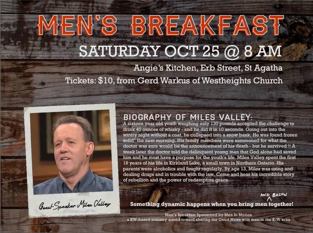 Men's Breakfast Oct 2014