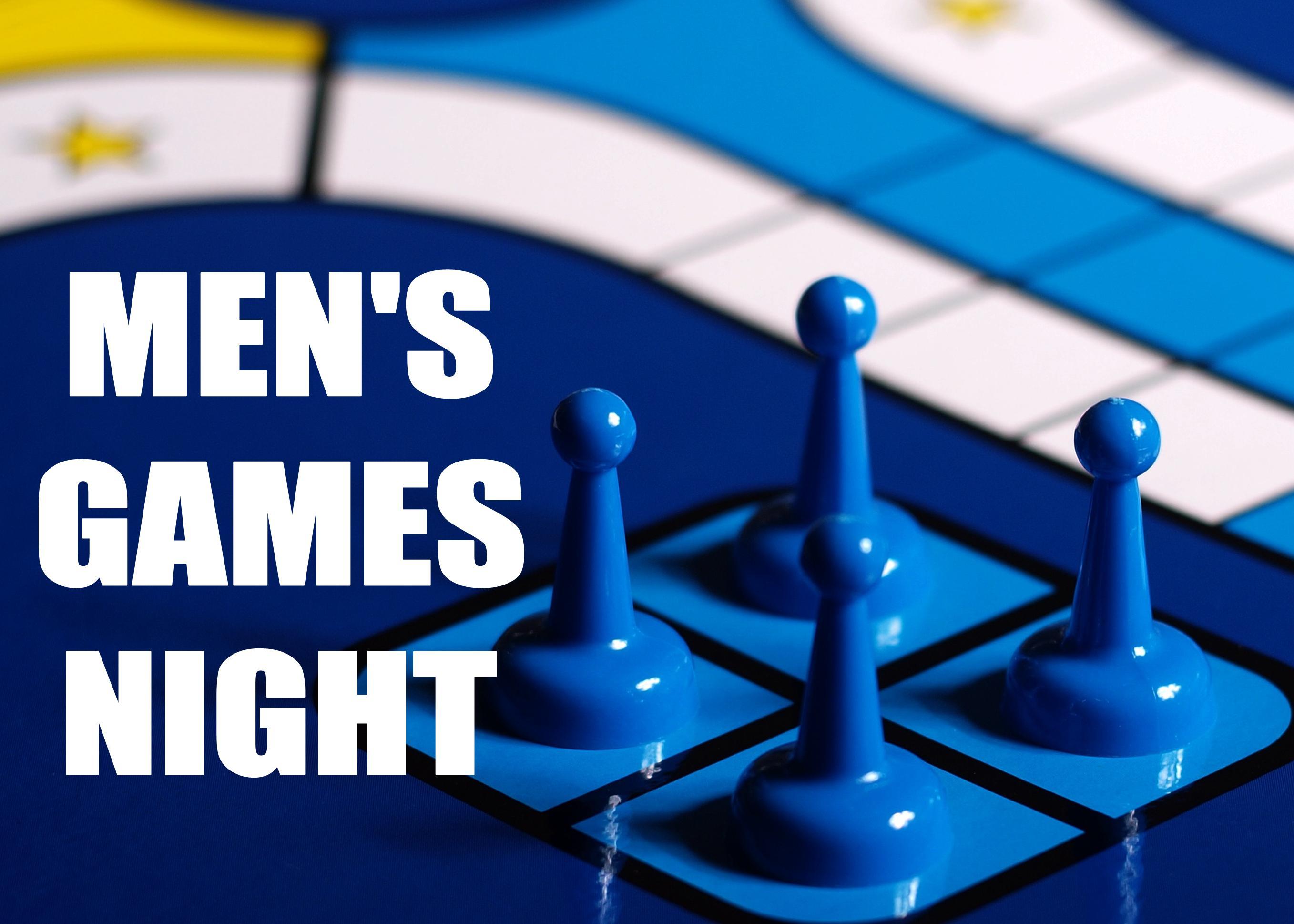Westheights Men's Games Night
