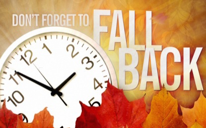Daylight Saving Time Ends This Weekend