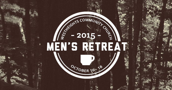 Save the Date! Men's Retreat 2015