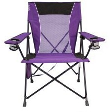 purple lawn chair