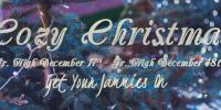 Cozy Christmas – December 17 & 18th 2015