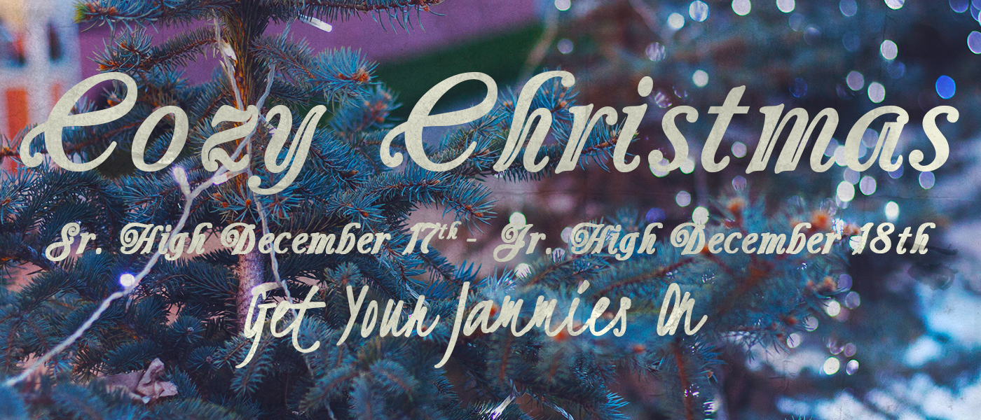 Cozy Christmas – December 17 & 18th 2015