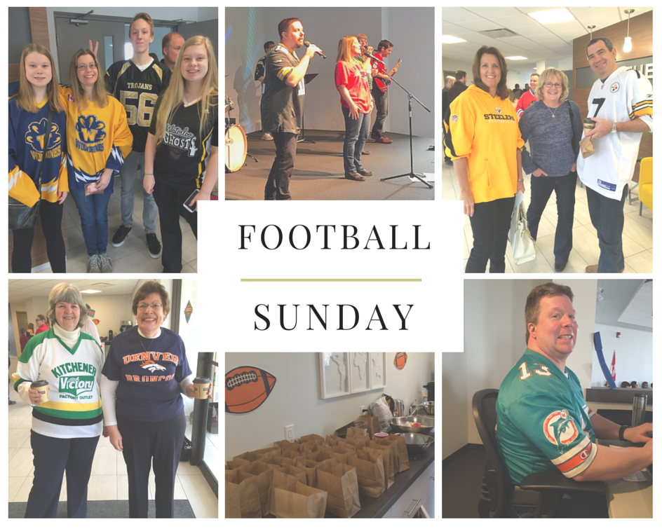 Football Sunday Collage