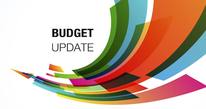 Westheights Budget Update