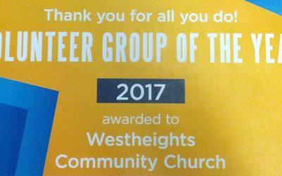Congratulations Westheights – You Won An Award