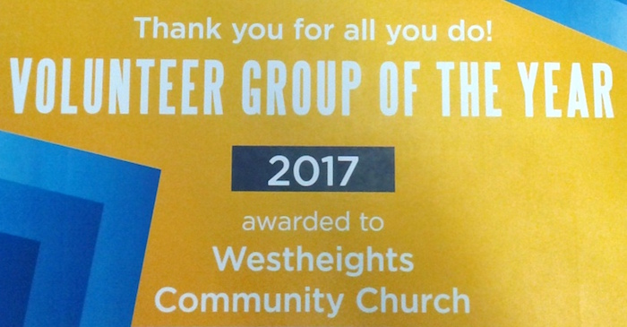 Congratulations Westheights – You Won An Award
