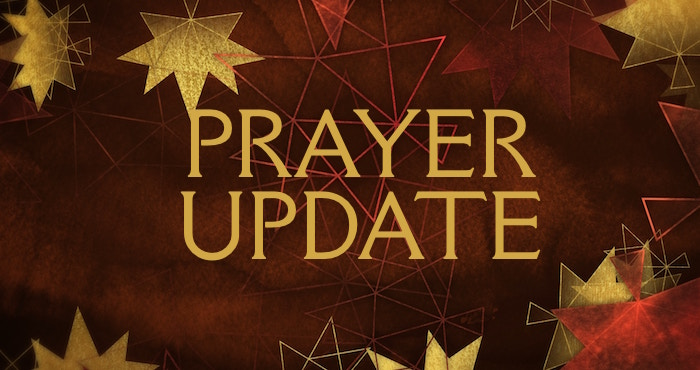 BIC Canada Prayer Update – October