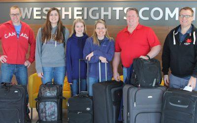 Team Nicaragua Departs