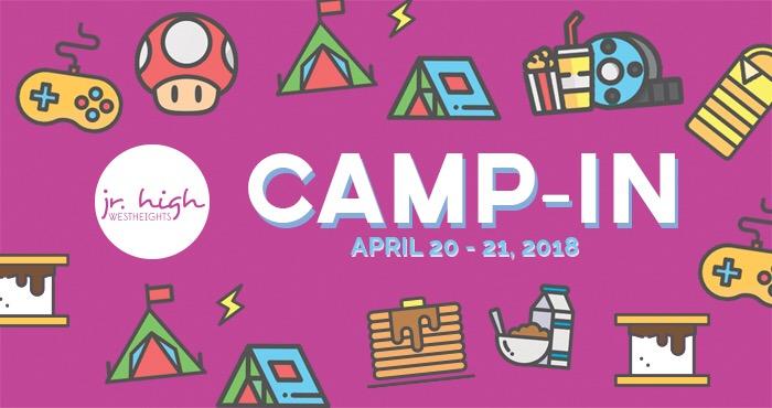 Jr. High Camp In 2018