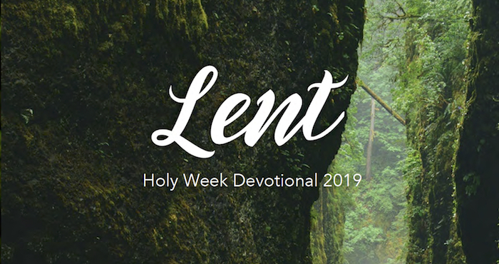 Lent Devotional 2019