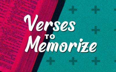Verses to Memorize #2 – Isaiah 40:31