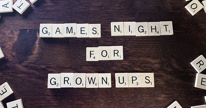 Games Night for Grown-Ups