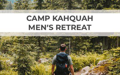 Kahquah Men's Retreat 2020