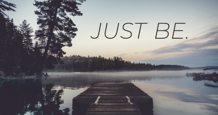 Just Be #4 – Be Thankful