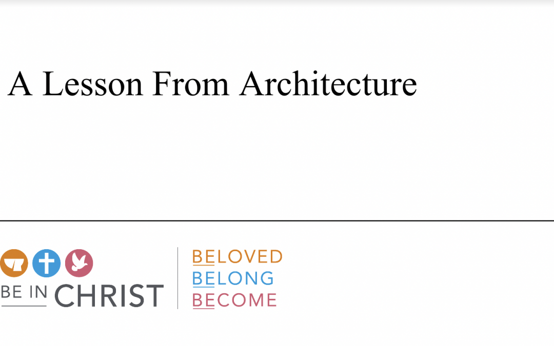 A Lesson From Architecture